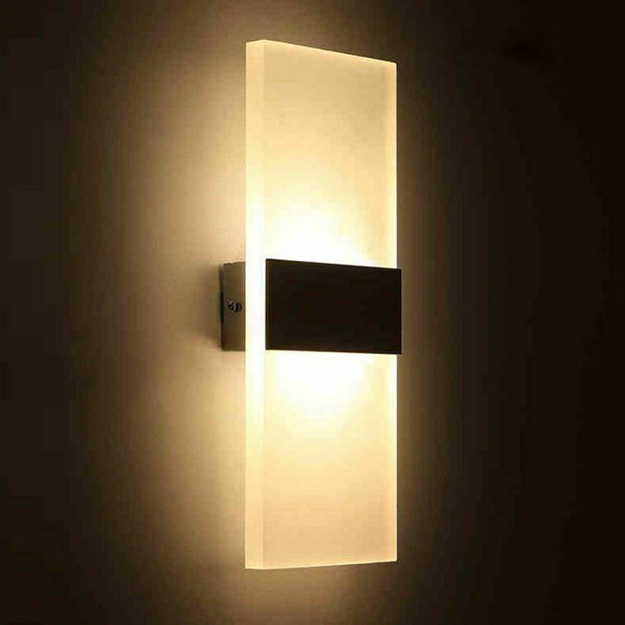 bedroom wall lamps modern led light bulb
