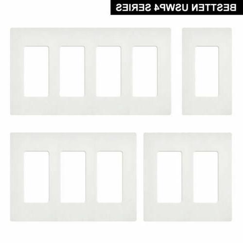 bestten 1 4 gang screwless wall plate