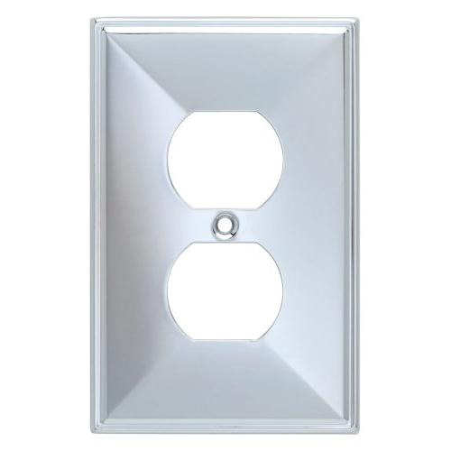 Beverly Single Duplex Wall Plate, Wall Lighting, Light Switc