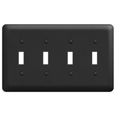 Black Switch Duplex - Finish