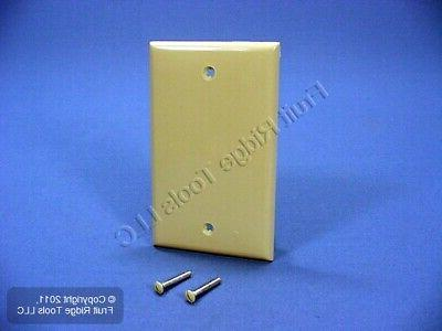 blank nylon wallplate mount