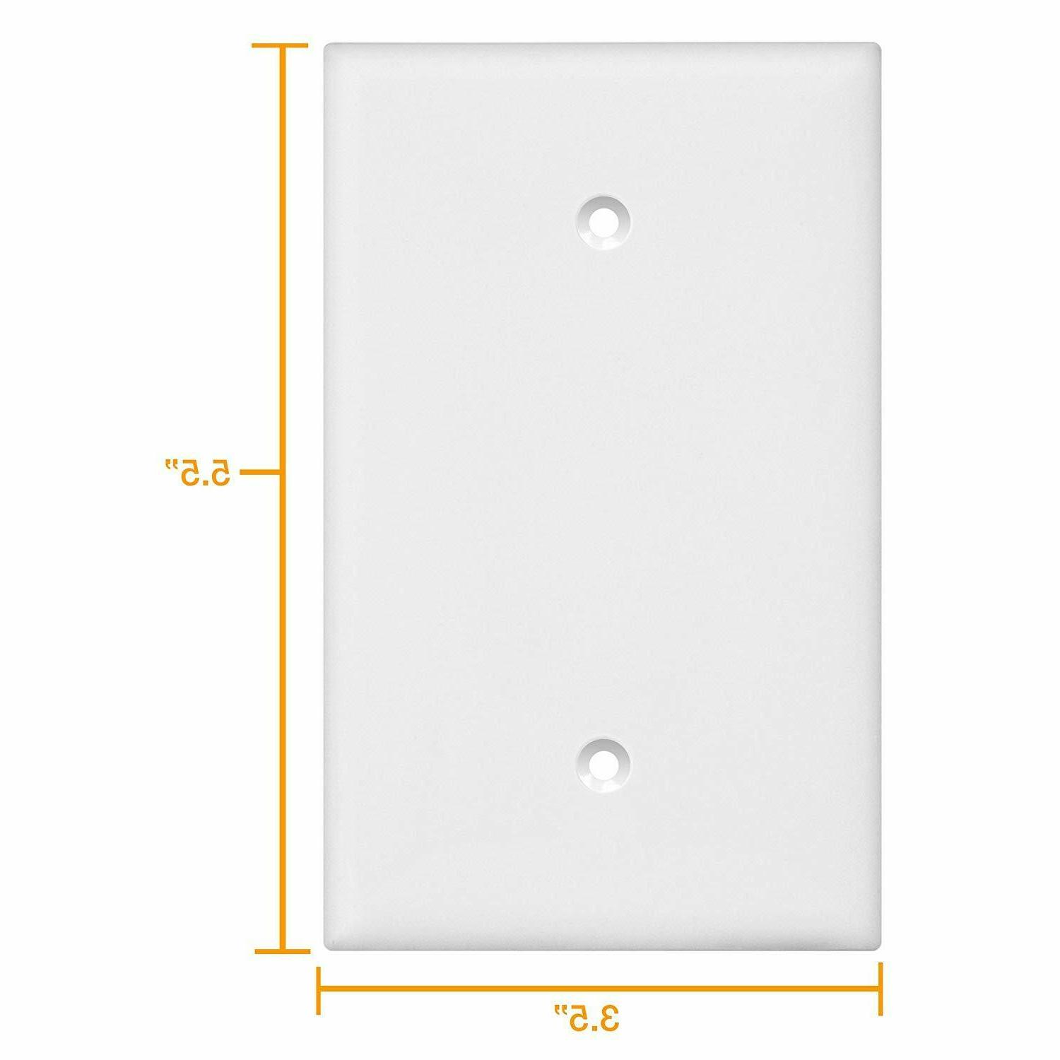 blank wall plate cover 8801