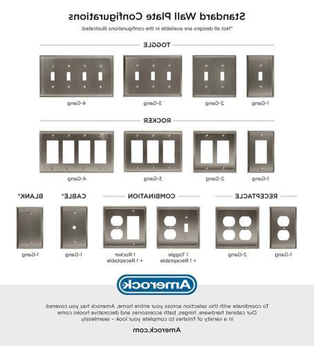 Amerock BP36541ORB Wall Plate -