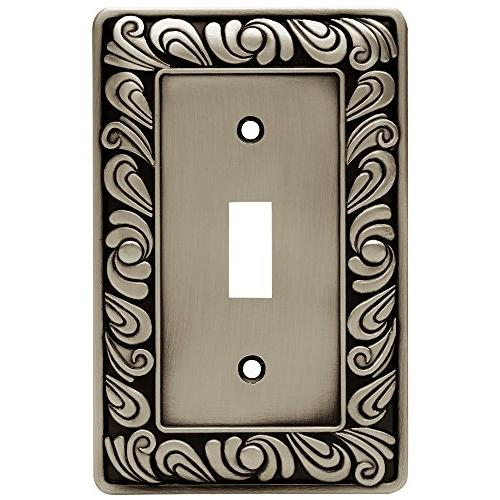 Brainerd Paisley Collection, Brushed Pewter