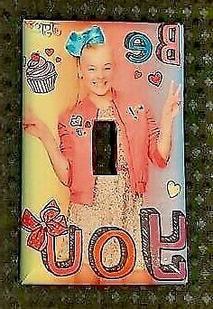 Brand New JoJo Siwa Handmade Custom Light Switch Wall Plate