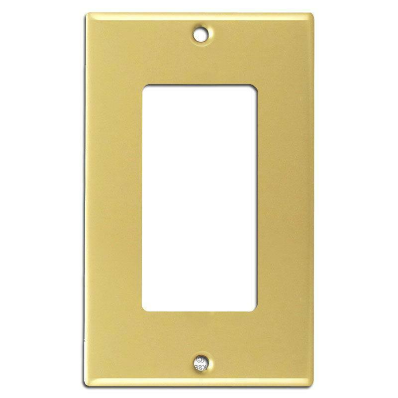 Brass Decorator Wall Plate Brainerd 64122