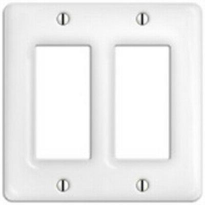 Ceramic White 2 Rocker Gfi American Tack Standard Receptacle
