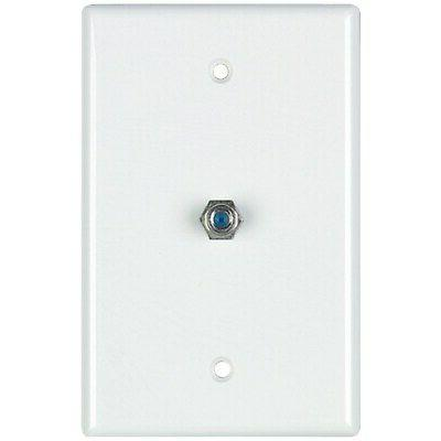 dcm322024wh coax wall plate