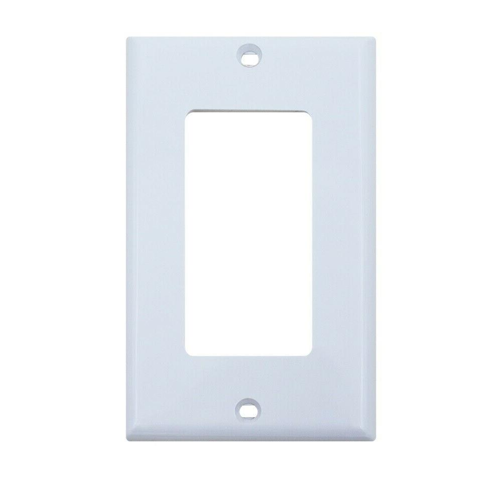 Decora Wall Plates with Screws Switch & Cover