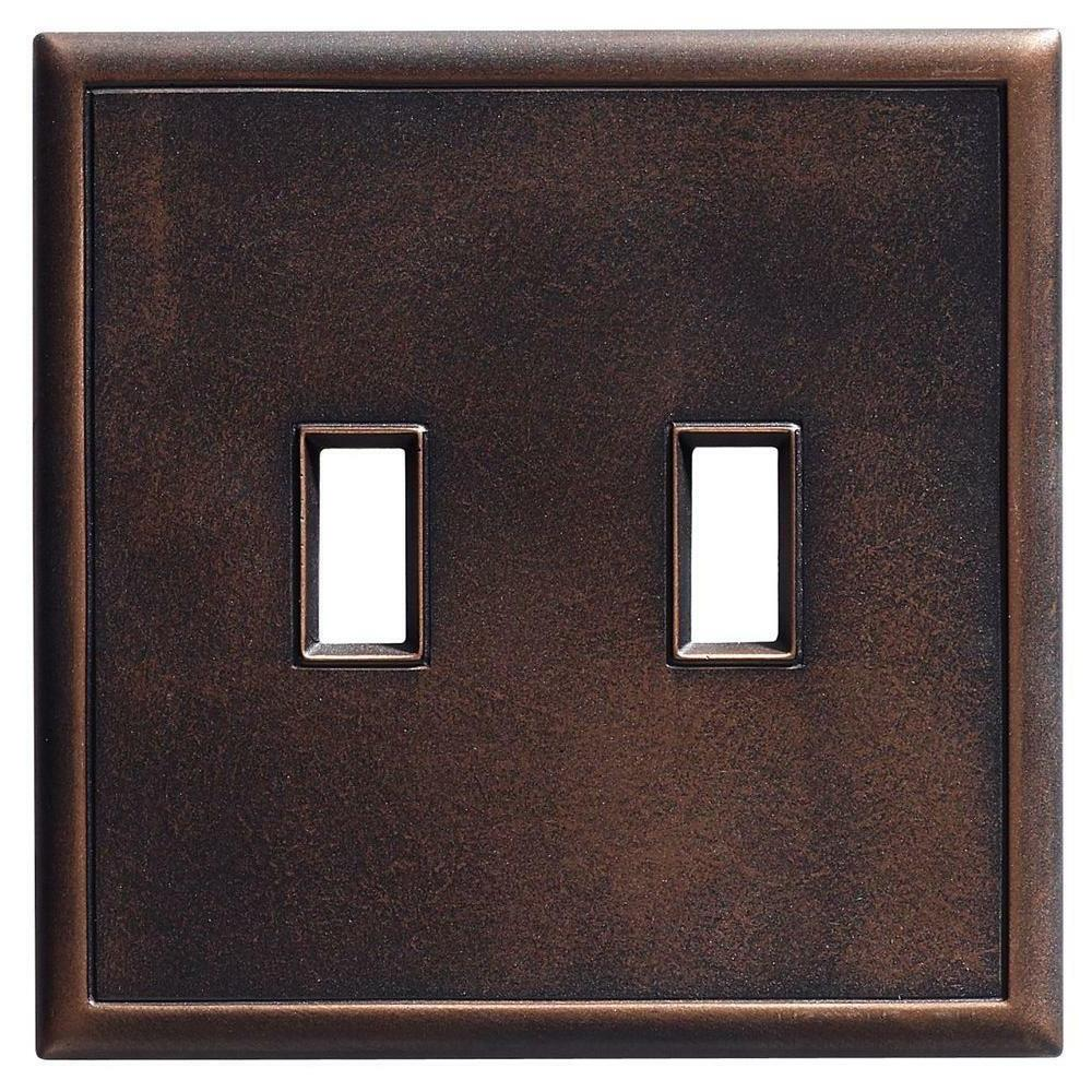 double toggle wall plate light
