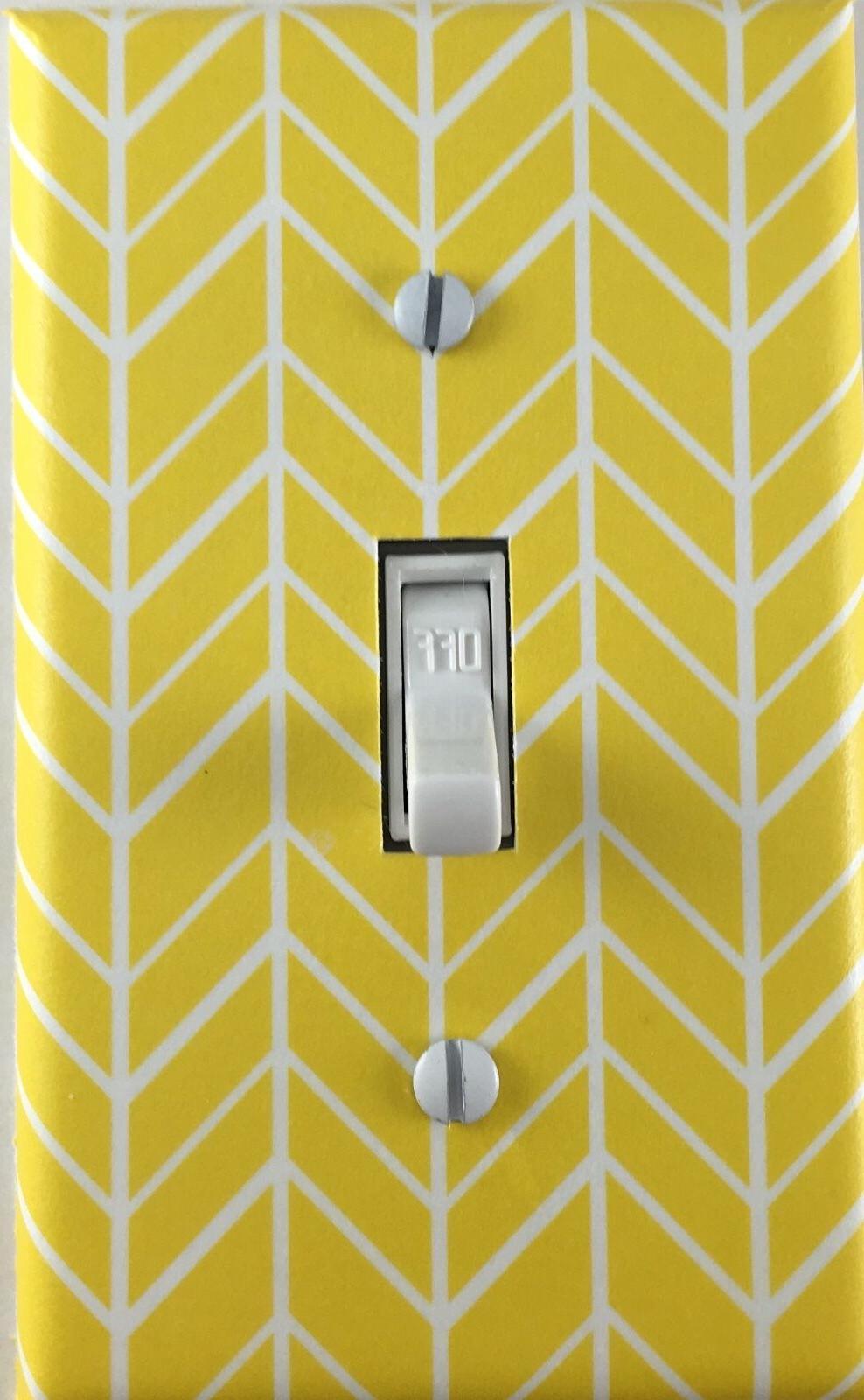 decorative single toggle light switch wall plate