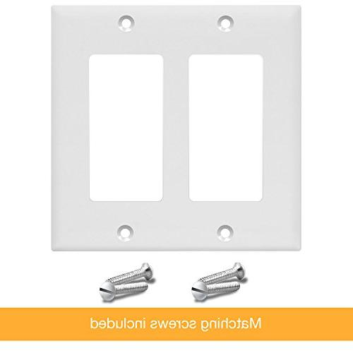 Outlet Wall Standard Size White 8832-W