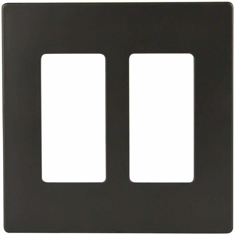 Decorator 2 Rocker Switch Cover Polycarbonate