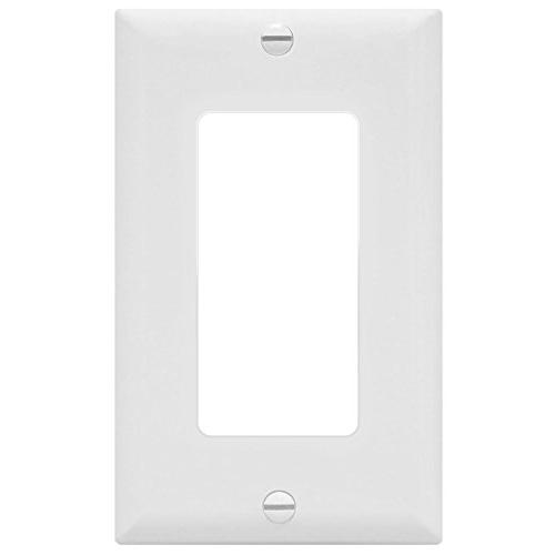 Decorator by 8831-W Home Standard for Rockers, GFCI Dimmers, Sensors