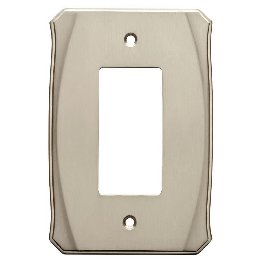 Decorator Wall Plate Brainerd W34474 Nickel