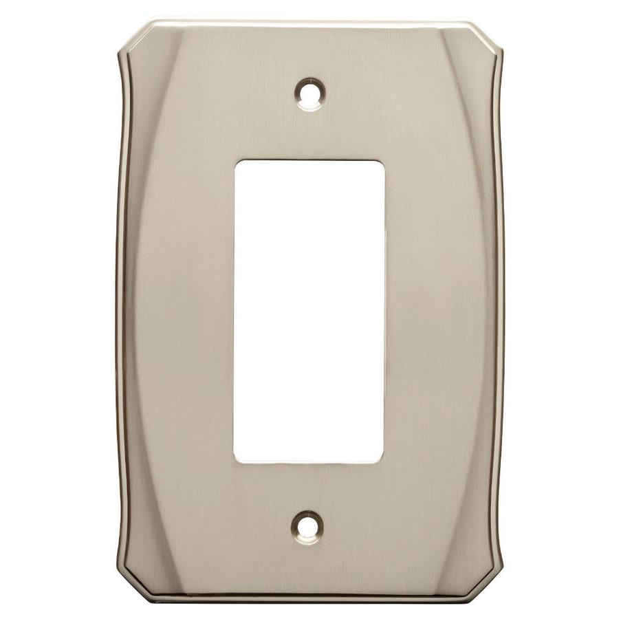 decorator wall plate w34474 nickel