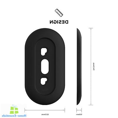 doorbell wall plate with hole accessories cover