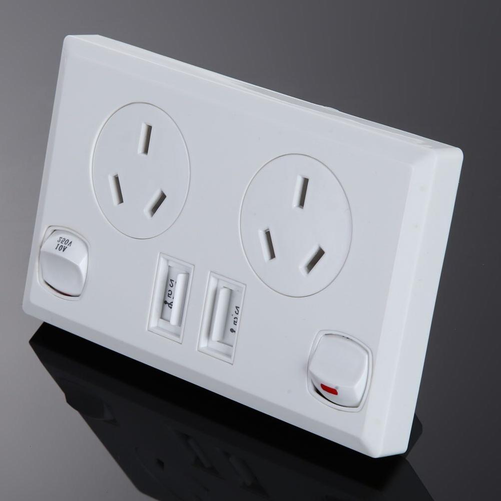AU Plug Socket Power Supply 2 <font><b>Home</b></font>