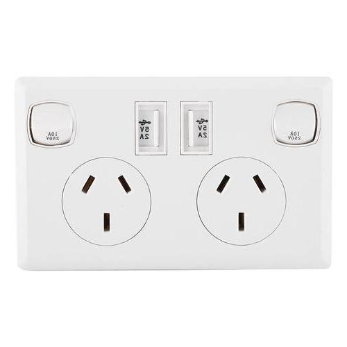 double usb 2 switch electrical font b