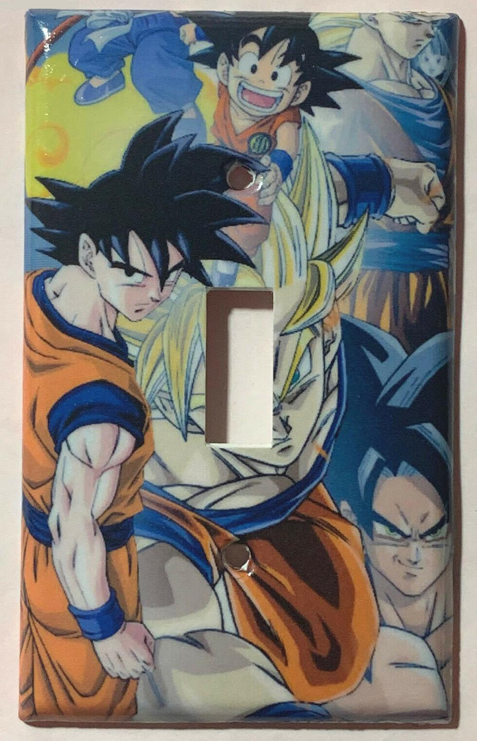 dragon ball z light switch power outlet