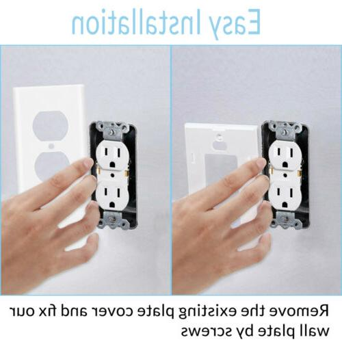 Dual Plate Charger Electrical Outlet