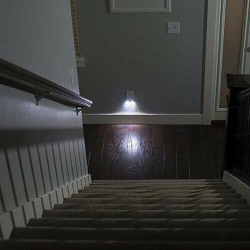 10x Duplex Outlet Cover Night Light Bathroom