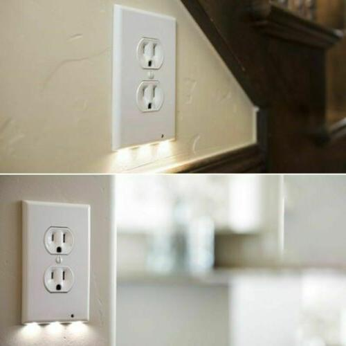Duplex Decor Outlet Wall Plate With Stock