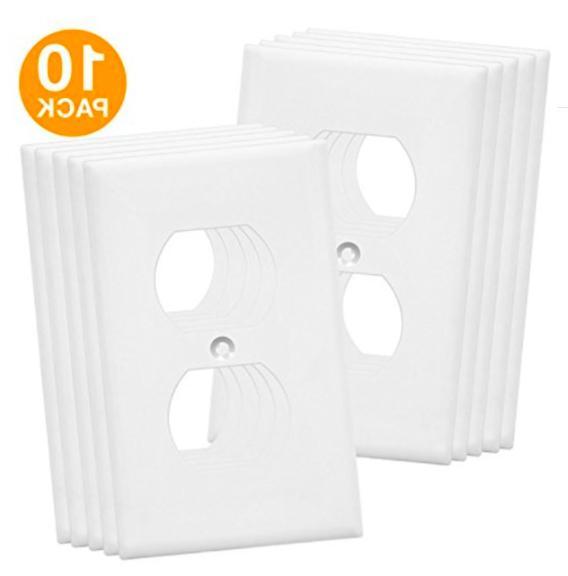 duplex wall plates kit home