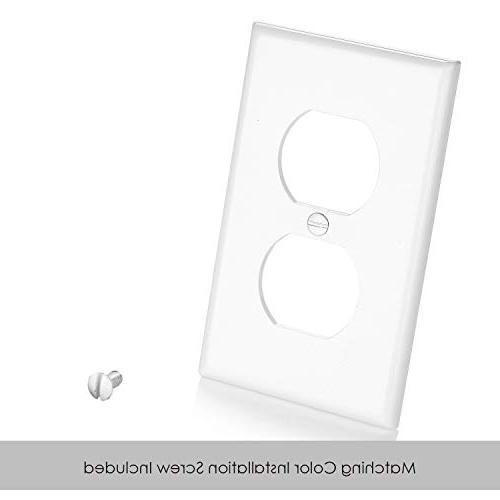Plates, Size Polycarbonate UL White