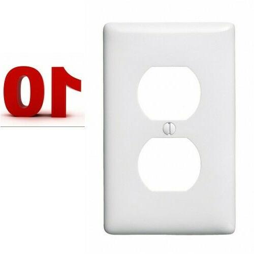 electrical outlet wall face plate cover 10