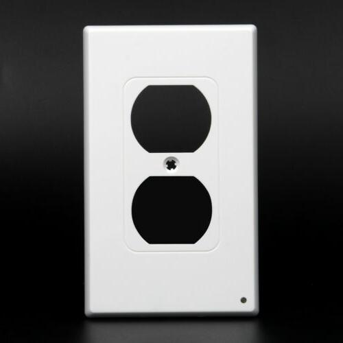 Electrical Wall Plate w/ LED Night Sensor Wholesale