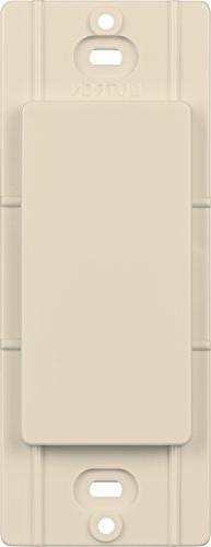 Lutron Electrical Wall Plate, Diva Blank Insert, Gloss Finis