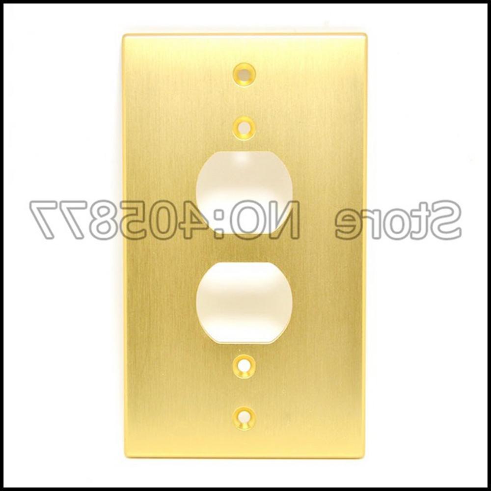 Gold/<font><b>Silver</b></font>/Black Receptacles Aluminum