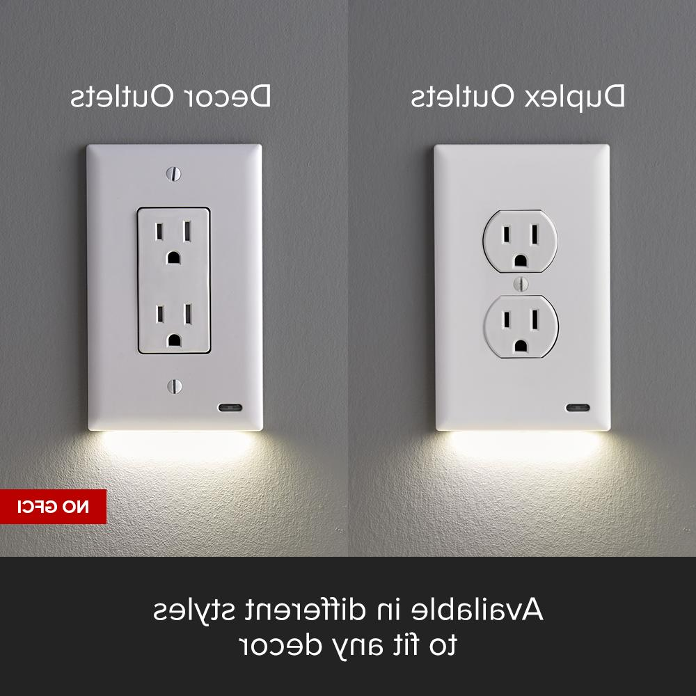 SnapPower - Night Light - Outlet Wall Plate Night