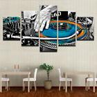 Hand Plate DJ Music Console 5 Panels wall art printing canva