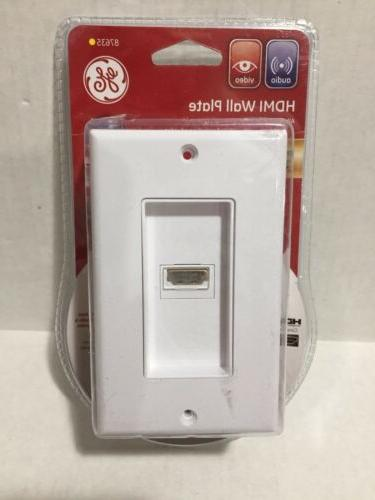 GE HDMI WALL PLATE 87635 ULTRA PRO HIGH DEFINITION 1080P