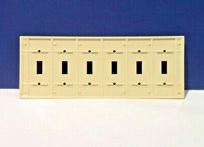 Leviton IVORY Switch Wall Plate Cover 86036