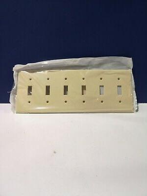 Leviton IVORY Switch Plastic Cover