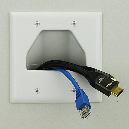 Datacomm Recessed Plate