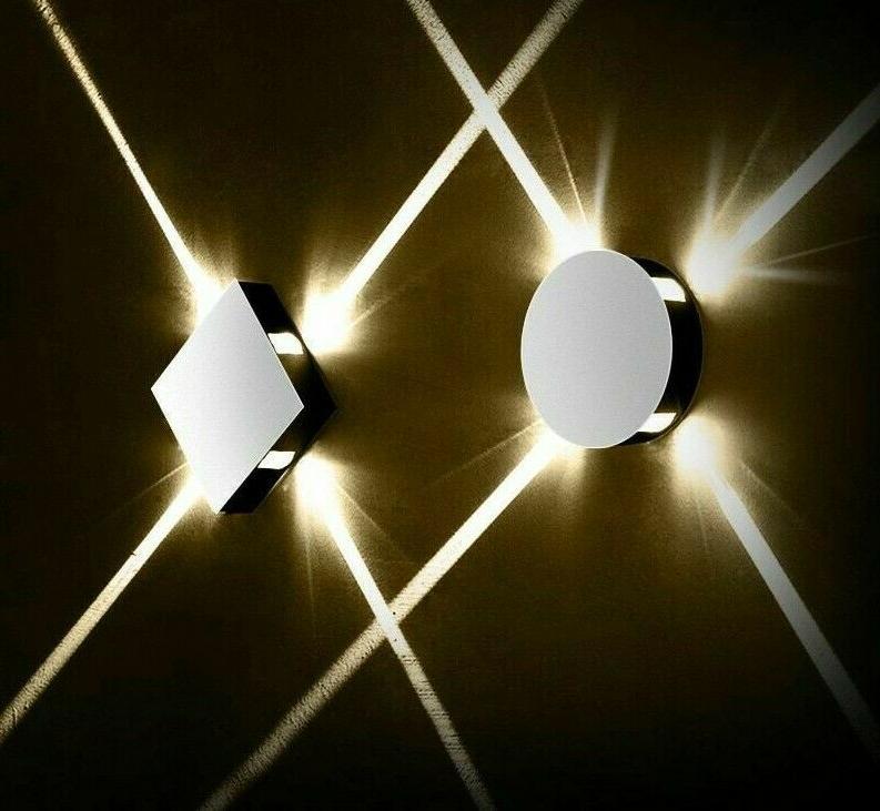 led night wall lamps modern style light