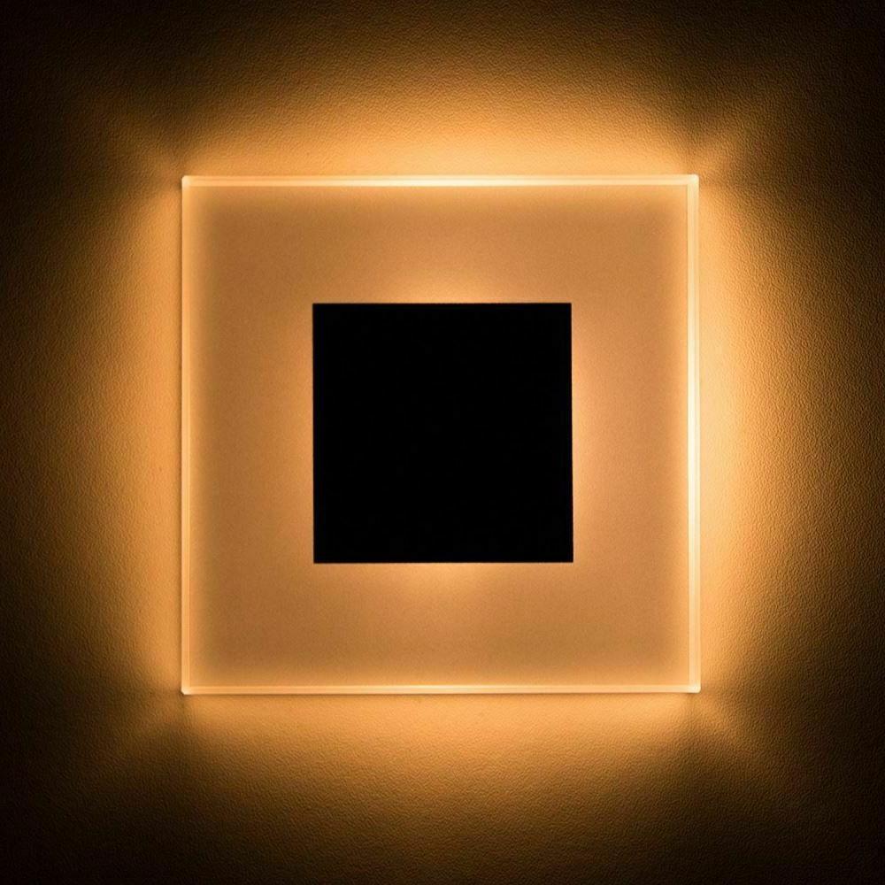 Led Wall Light 3W Acrylic Sconce Embedded Footlight Night