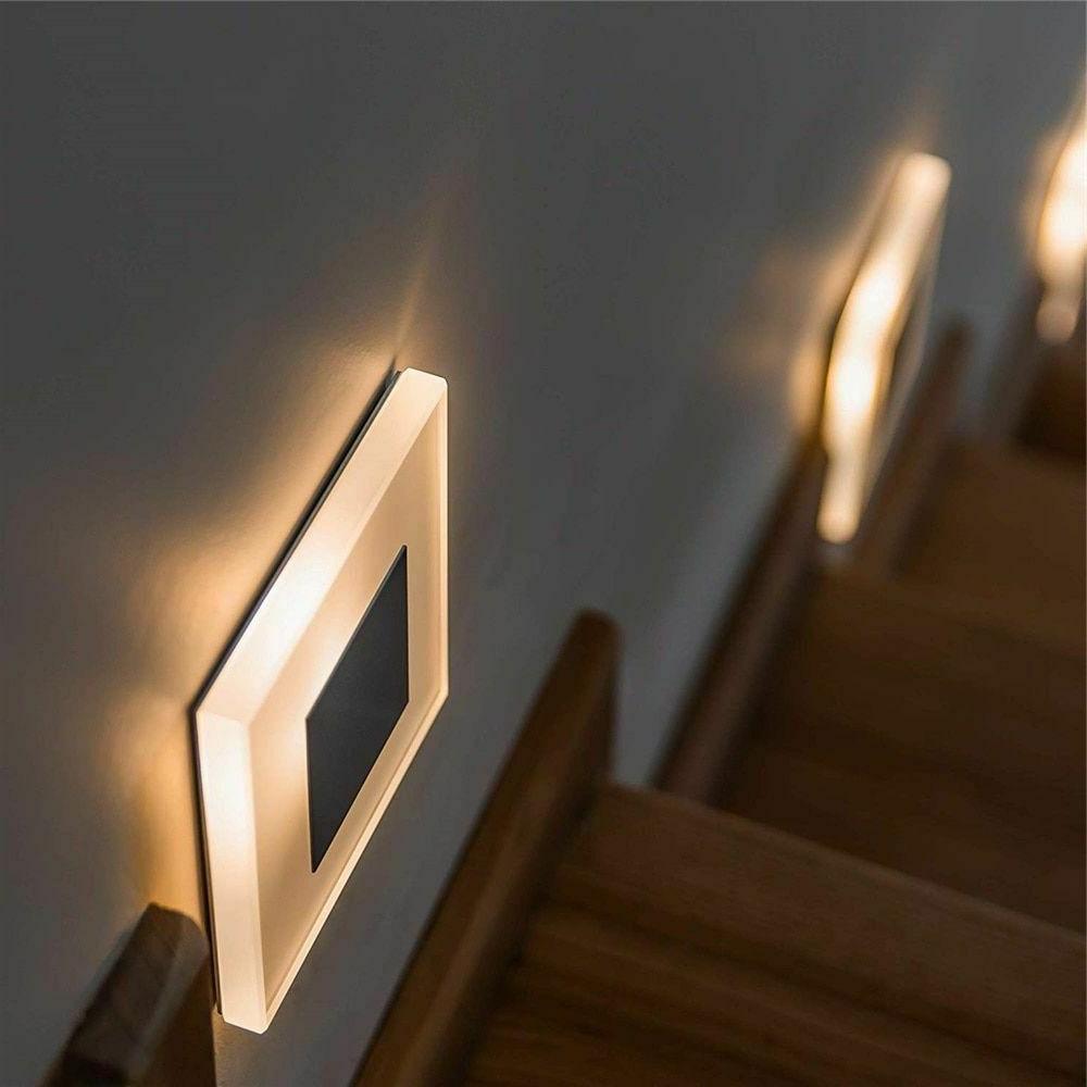 led wall light 3w acrylic wall sconce