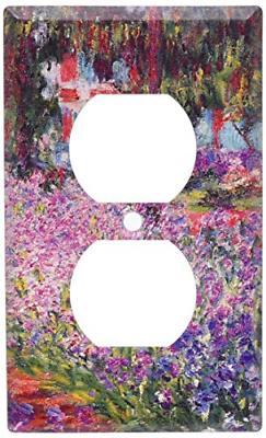 Art Plates - Monet: The Artist's Garden Switch Plate - Outle
