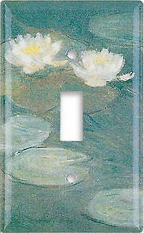 Art Plates - Monet: Water Lilies  Switch Plate - Single Togg