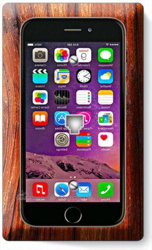 NEW APPLE IPHONE 7 7S SCREEN PHONE JACK TELEPHONE WALL PLATE