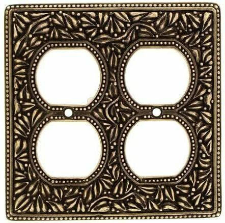 NEW VICENZA DESIGNS SAN MICHELE DOUBLE WALL PLATE WP7003 ANT