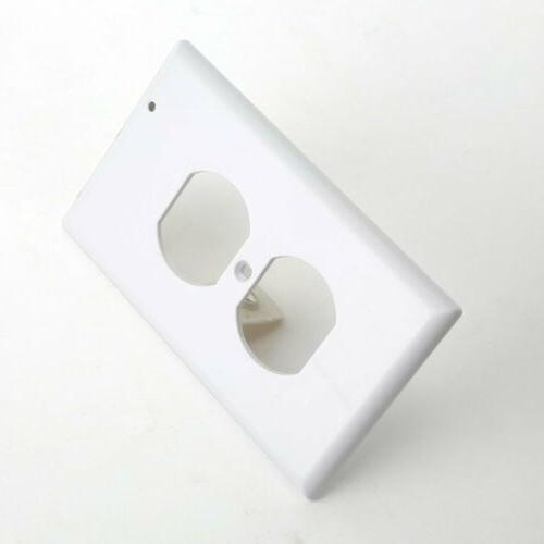 New Wall Cover Night Light-Duplex Plate with LED