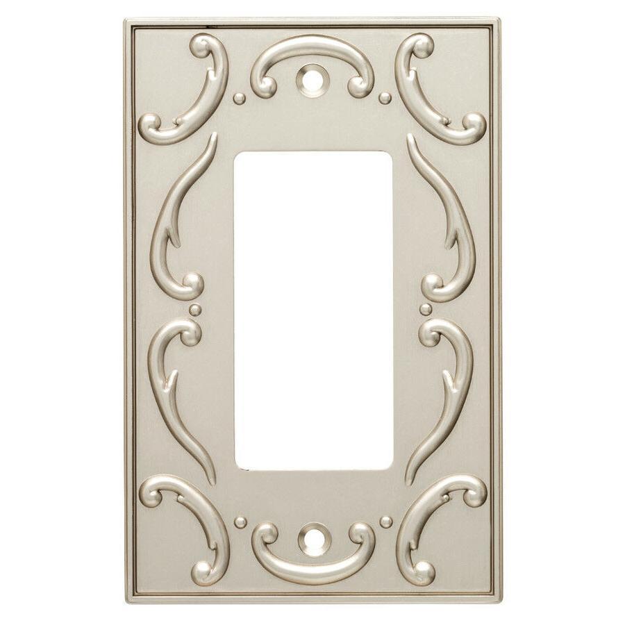 Nickel Decorator French Lace Brainerd W10373