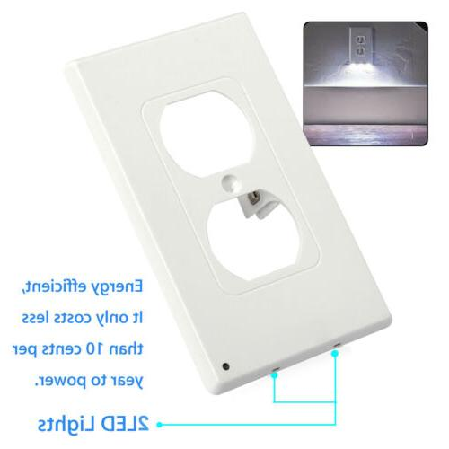 5 Plate Led Night Cover With Light Sensor