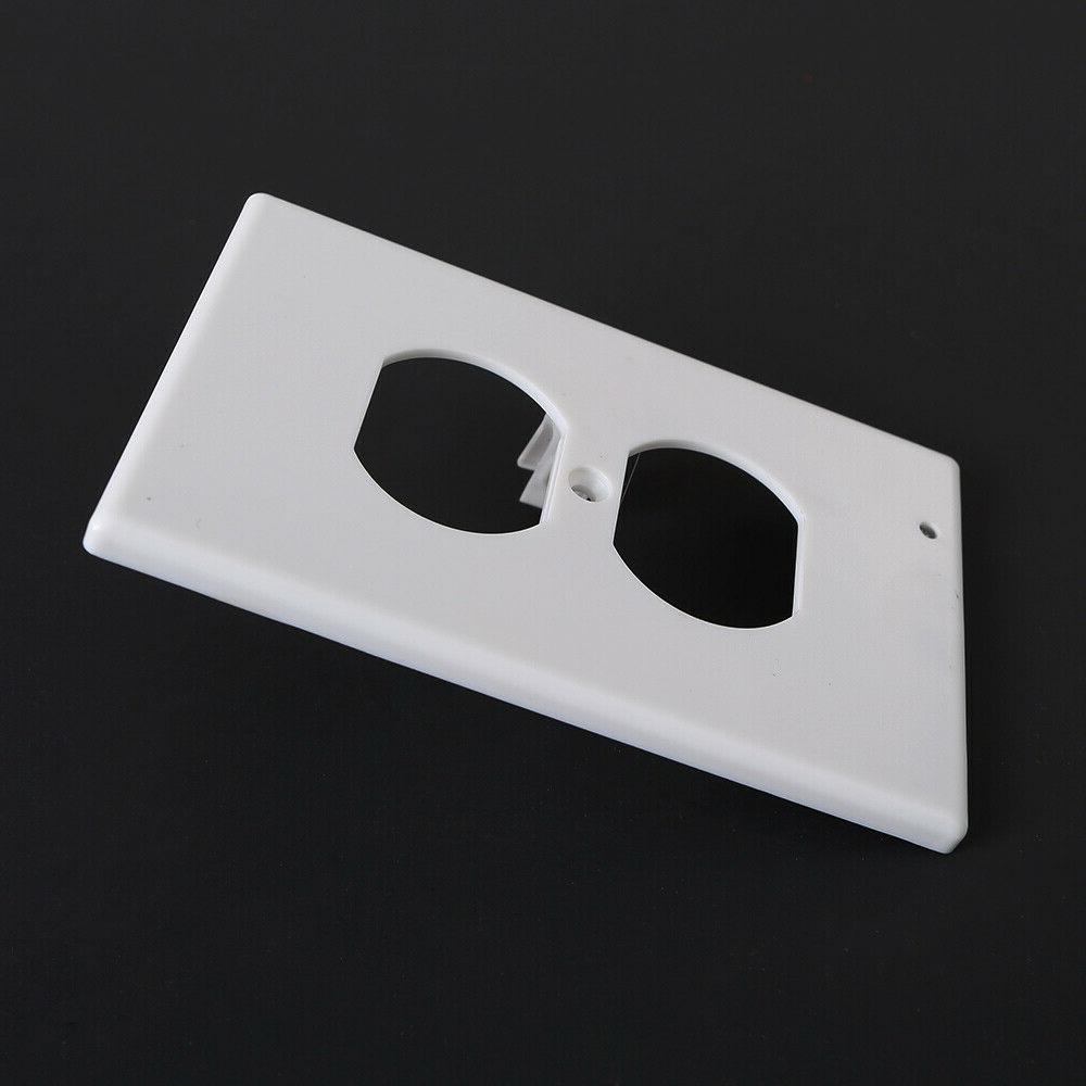Duplex Wall wall plate with led night Ambient light sensor